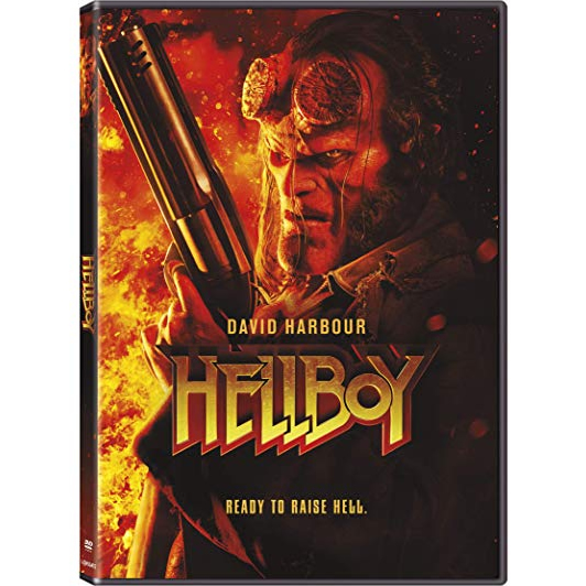 dvd sales uk hellboy on dvd