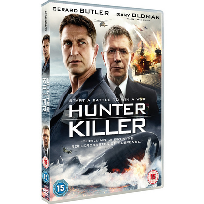 dvd sales uk hunter killer on dvd