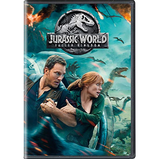 dvd sales uk jurassic world: fallen kingdom on dvd