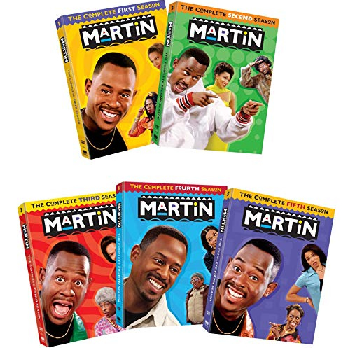 DVD sales uk martin season 1-5