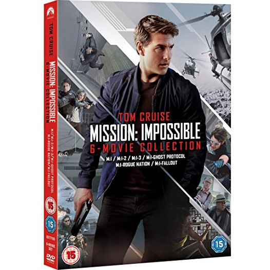 dvd sales uk mission: impossible - 6 movie collection on dvd