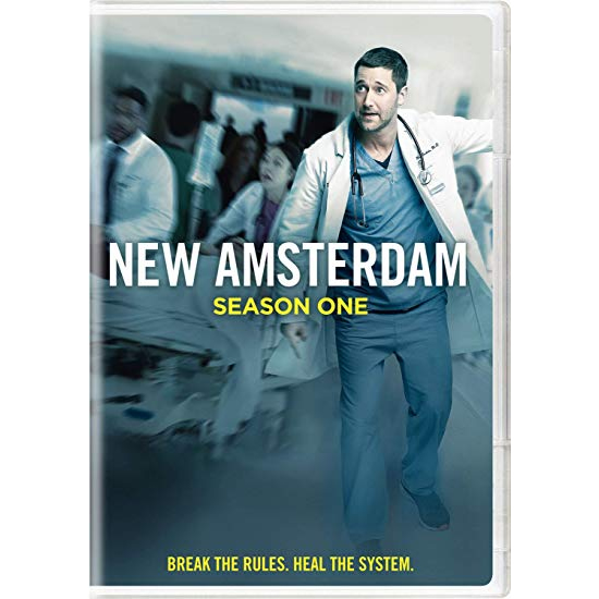 DVD sales uk new amsterdam season 1