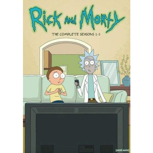 DVD sales uk rick and morty season 1-3