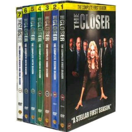 DVD sales uk the closer season 1-7