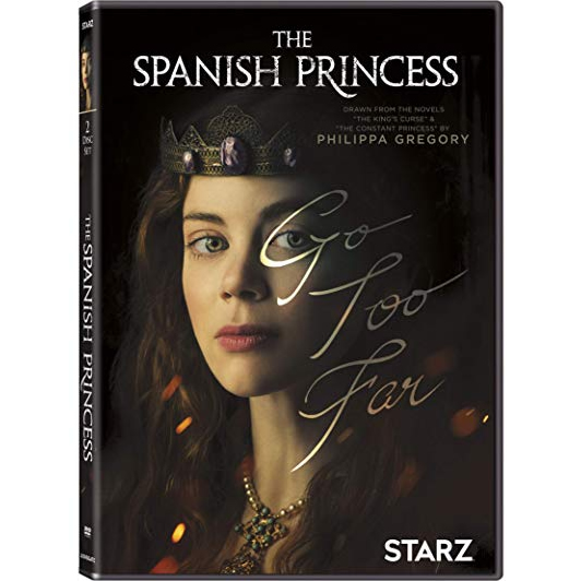 dvd sales uk the spanish princess on dvd