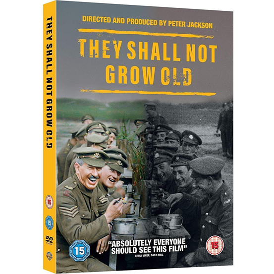 dvd sales uk they shall not grow old on dvd