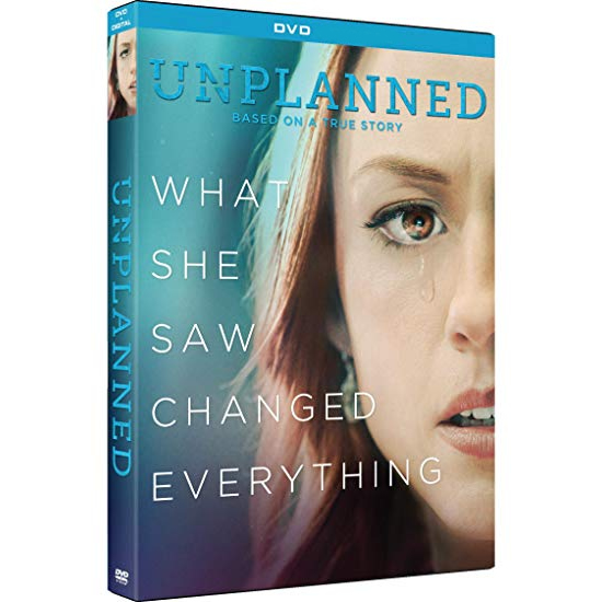 dvd sales uk unplanned on dvd