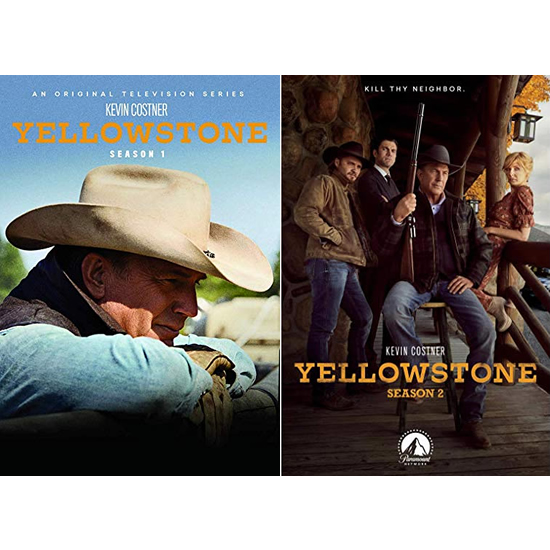 DVD sales uk yellowstone season 1-2