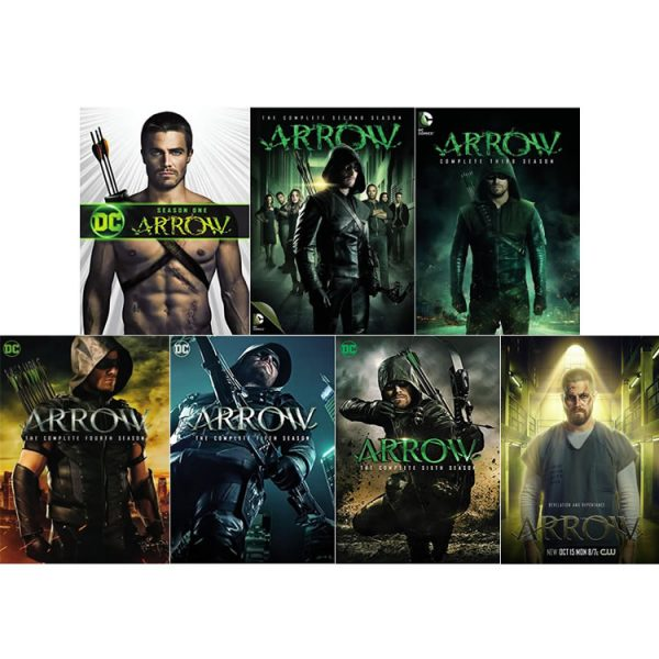 DVD sales uk arrow season 1-7