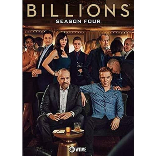 DVD sales uk billions season 4