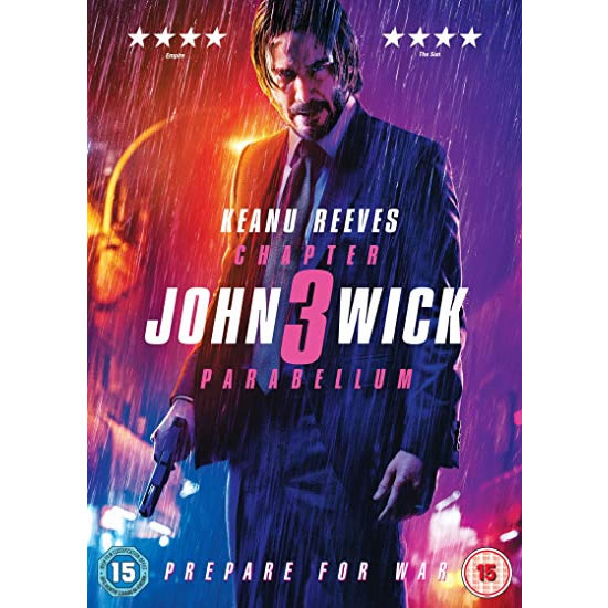 dvd sales uk john wick: chapter 3 - parabellum 2019 complete series DVD box set