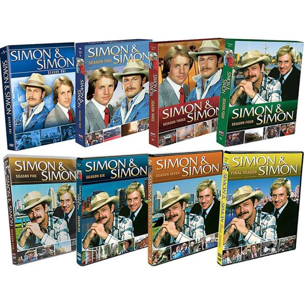 DVD sales uk simon & simon season 1-8