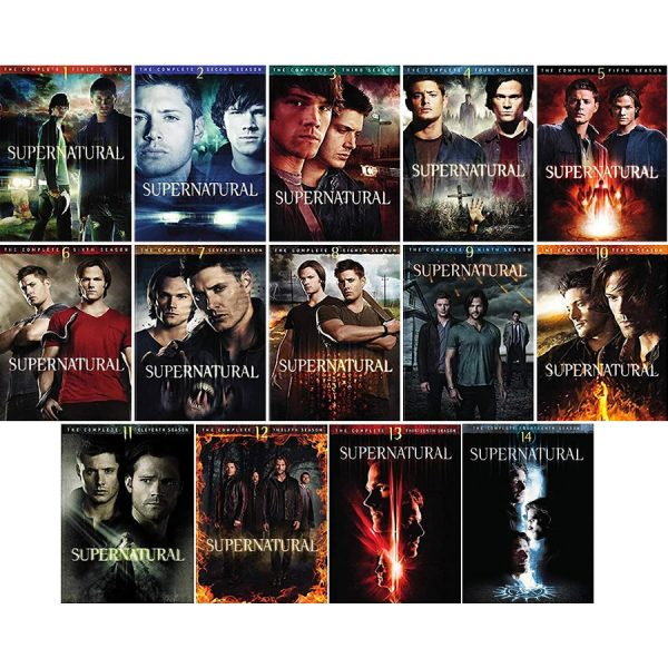 DVD sales uk supernatural season 1-14