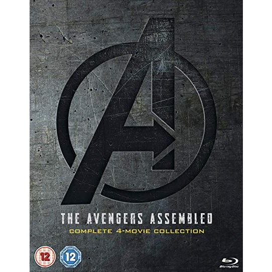 dvd sales uk the avengers assembled 1-4 complete 4-movie collection complete series DVD box set