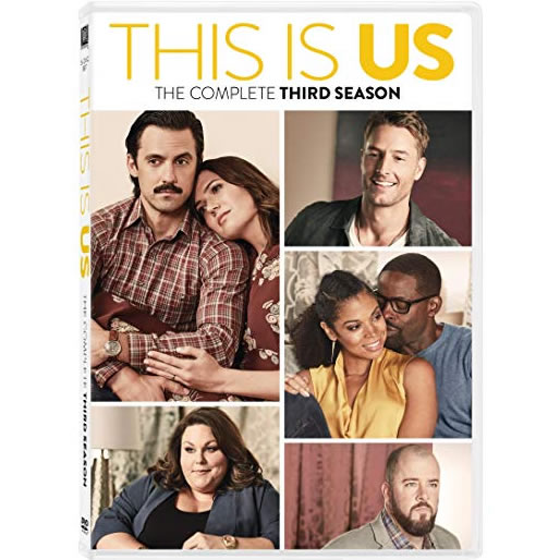DVD sales uk this is us season 3