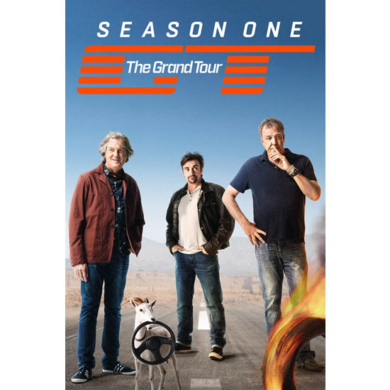 DVD sales uk the grand tour season 1