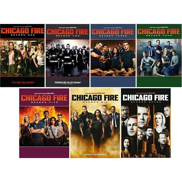 Chicago Fire: Complete Series 1-7 DVD For Sale