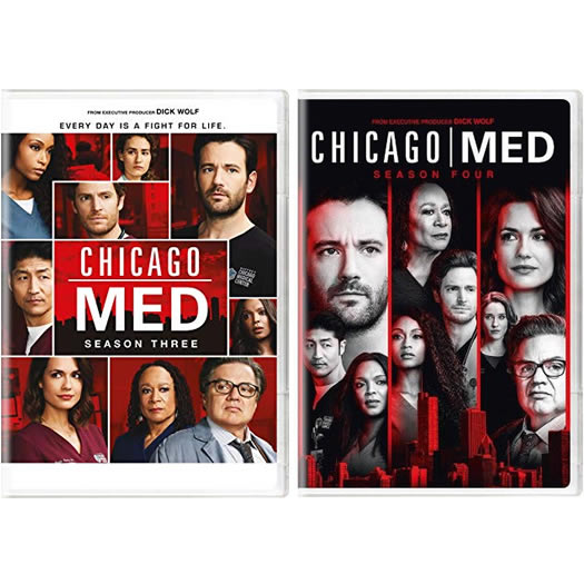 Chicago Med: Complete Series 3-4 DVD For Sale