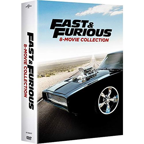 Fast & Furious 8-Movie Collection on DVD For Sale