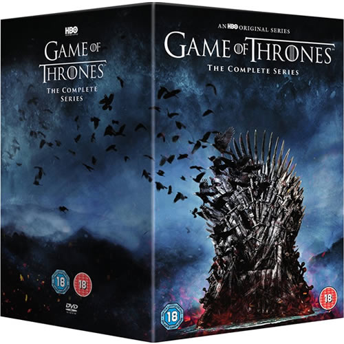 Game of Thrones: Complete Series 1-8 DVD For Sale