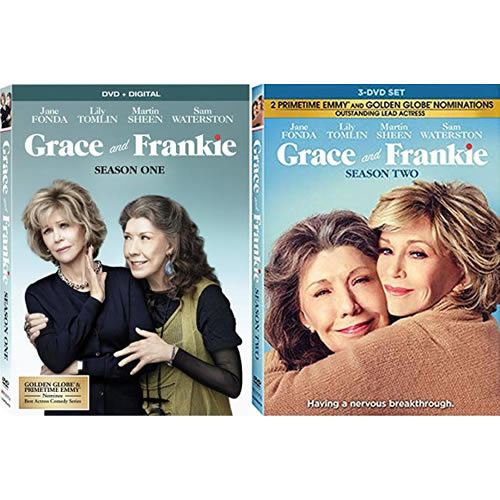 Grace And Frankie: Complete Series 1-2 DVD For Sale
