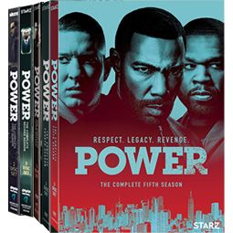 Power: Complete Series 1-5 DVD For Sale