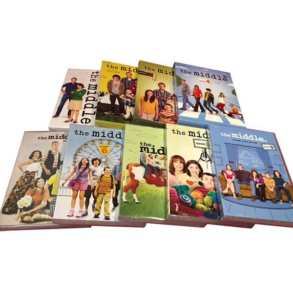 The Middle: Complete Series 1-9 DVD For Sale
