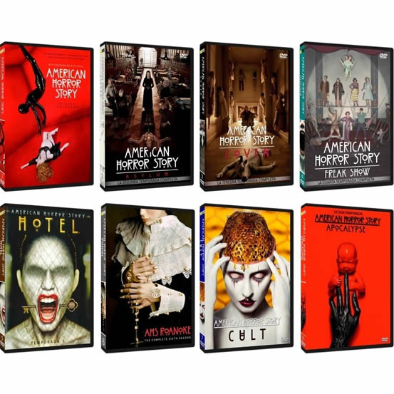 American Horror Story: Complete Series 1-8 DVD For Sale