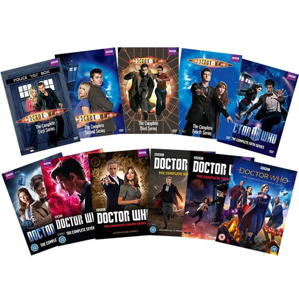 Doctor Who: Complete Series 1-11 DVD For Sale