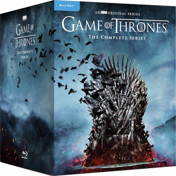 Game of Thrones Complete Series 1-8 Blu-ray Region Free For Sale