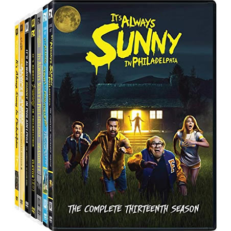 It's Always Sunny in Philadelphia: Complete Series 7-13 DVD For Sale