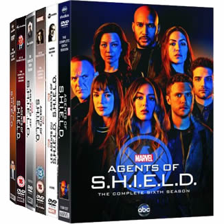 Marvel's Agents of SHIELD: Complete Series 1-6 DVD For Sale