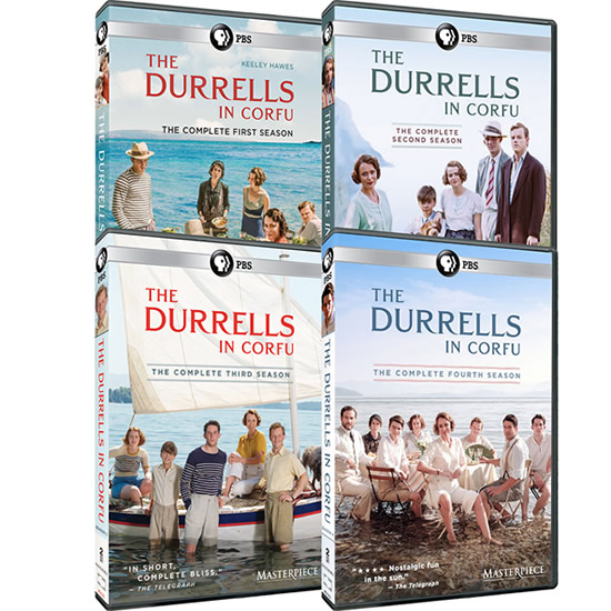 Masterpiece: The Durrells in Corfu: Complete Series 1-4 DVD For Sale