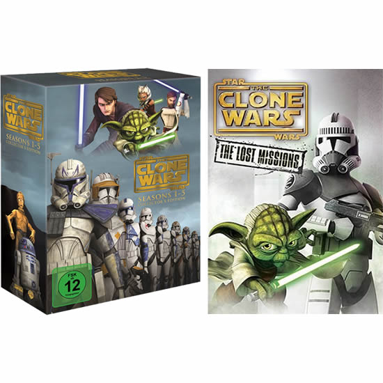 Star Wars: The Clone Wars: Complete Series 1-6 DVD For Sale