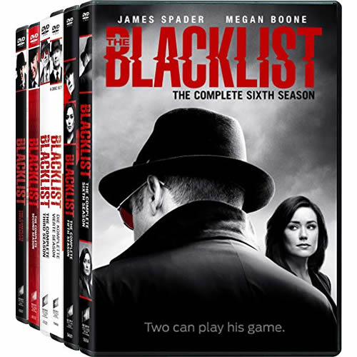 The Blacklist: Complete Series 1-6 DVD For Sale