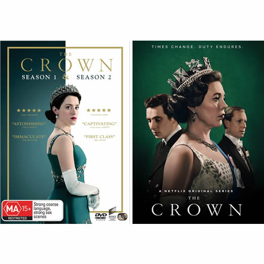 The Crown: Complete Series 1-3 DVD For Sale