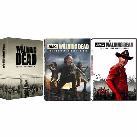 The Walking Dead: Complete Series 1-9 DVD For Sale