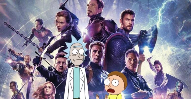 Fan-Art Imagines Rick & Morty In Avengers