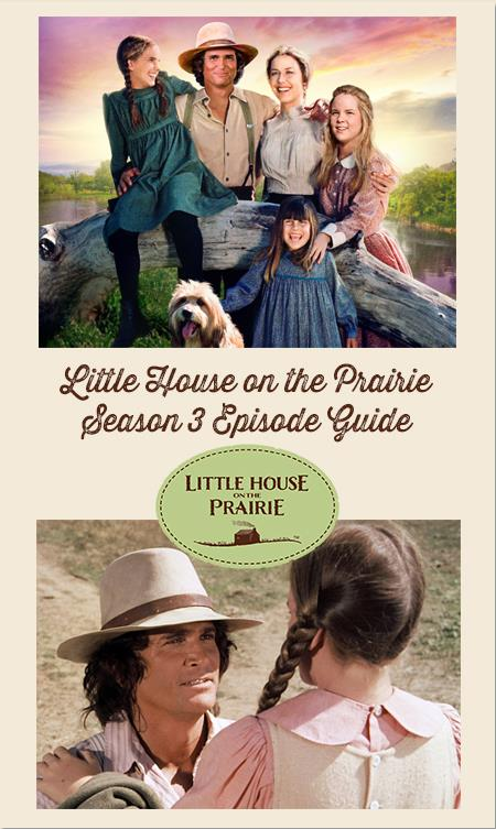Little House On The Prairie Episode Guide – Season 3