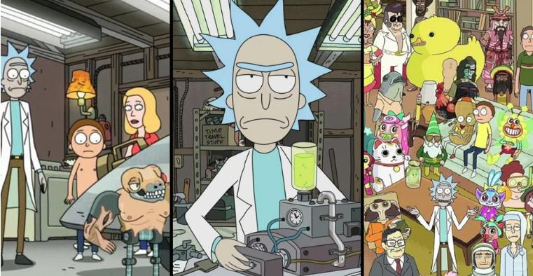 Rick & Morty: The Best Smith Family Team