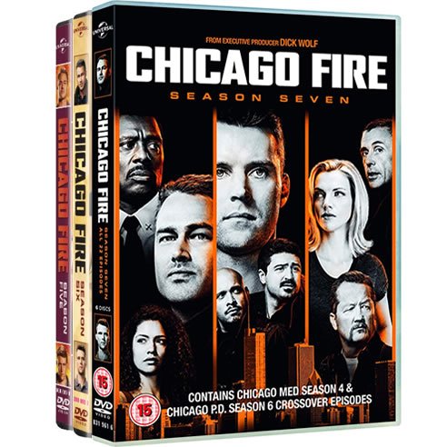Chicago Fire: Complete Series 5-7 DVD For Sale