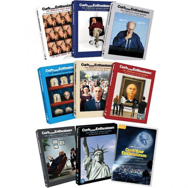 Curb Your Enthusiasm: Complete Series 1-9 DVD For Sale