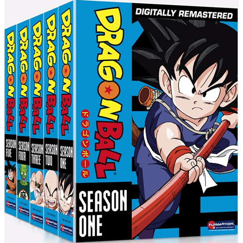 Dragon Ball: Complete Series 1-5 DVD For Sale