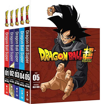Dragon Ball Super: Complete Series 1-5 DVD For Sale