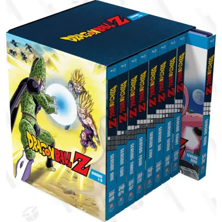 Dragon Ball Z: Seasons 1-9 Collection Blu-ray For Sale