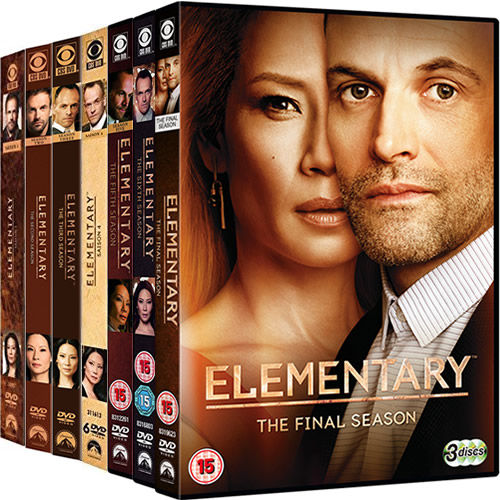 Elementary: Complete Series 1-7 DVD For Sale