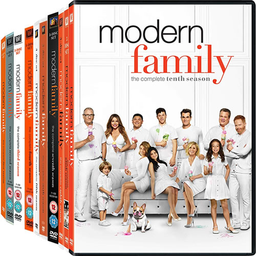 Modern Family: Complete Series 1-10 DVD For Sale