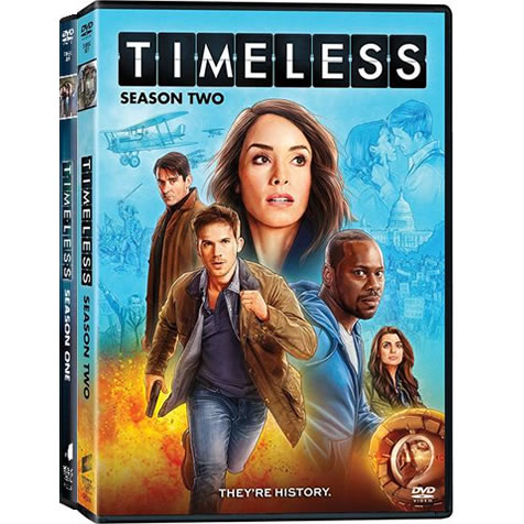Timeless: Complete Series 1-2 DVD For Sale