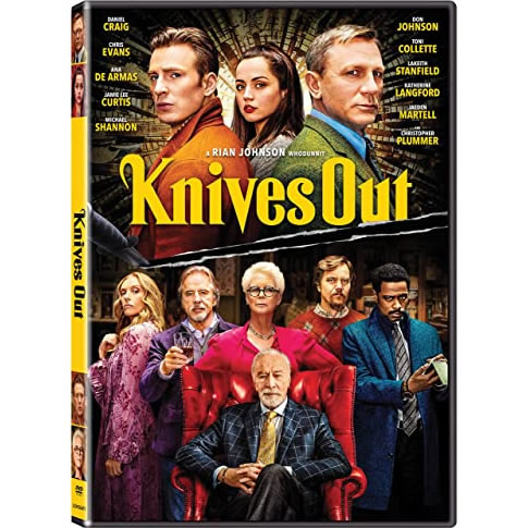 Knives Out on DVD For Sale