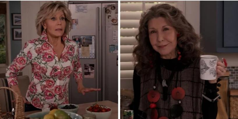 10 Of The Best BFF Moments In Season 6 Of Grace And Frankie